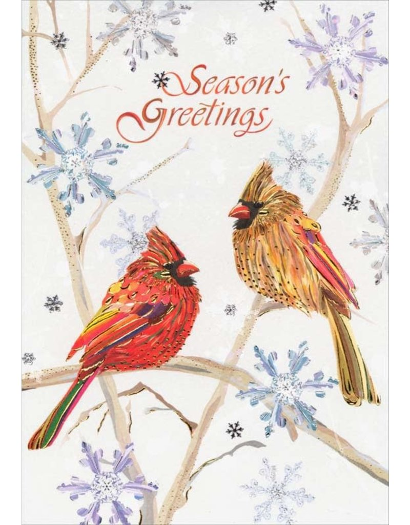 Card XMAS Turnowsky Cardinals