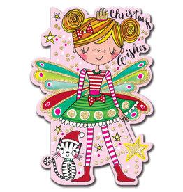 Card XMAS Angel & Cat