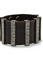 Rebel Black Diamond Swarovski Bracelet