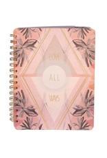 Love All Ways Spiral Notebook