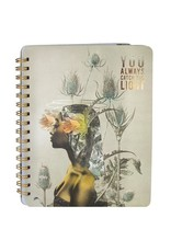 You Always Catch the Light Spiral Notebook