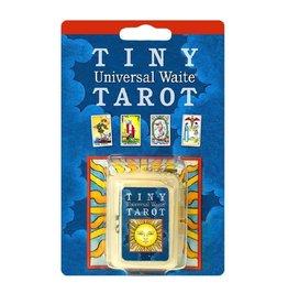 Tiny Tarot Deck Keychain Universal White
