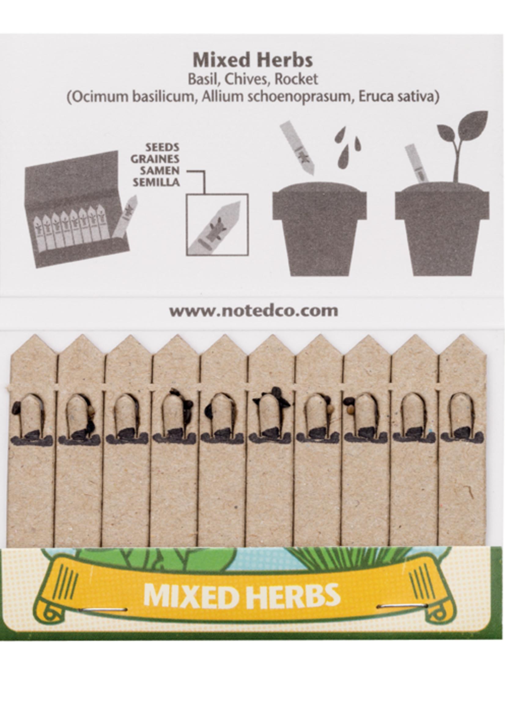 Matchstick Garden - Mixed Herbs