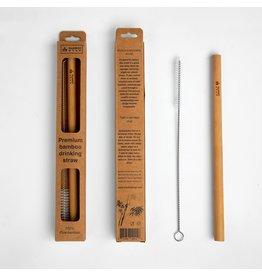 Premium Bamboo Straw w/ Cleaning Brush