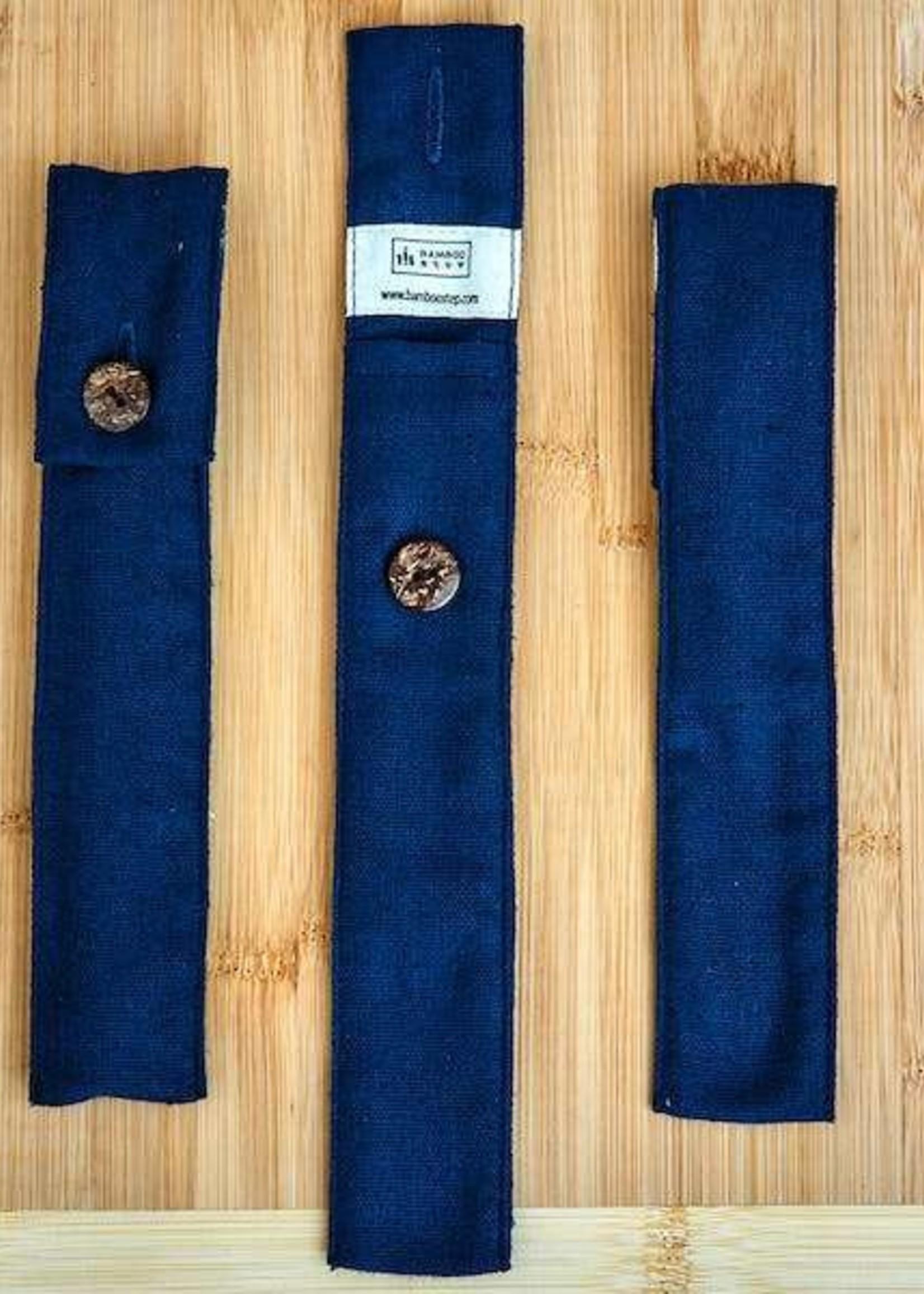 Bamboo Step Straw Travel Kit - Asst. Fabric Patterns