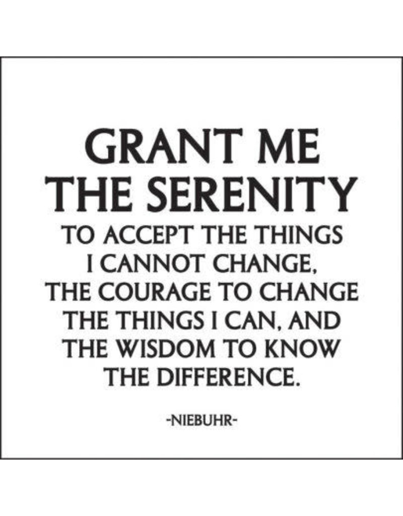 MAGNET Serenity Prayer - Elysian Fields