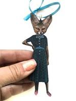 Wood Magnet Sassy Fox