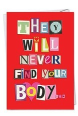Never Find Your Body