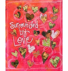 Card LOVE Surrounded By Love