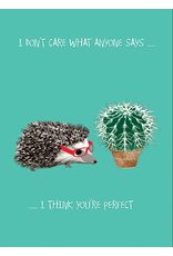 Card VDAY Hedgehog