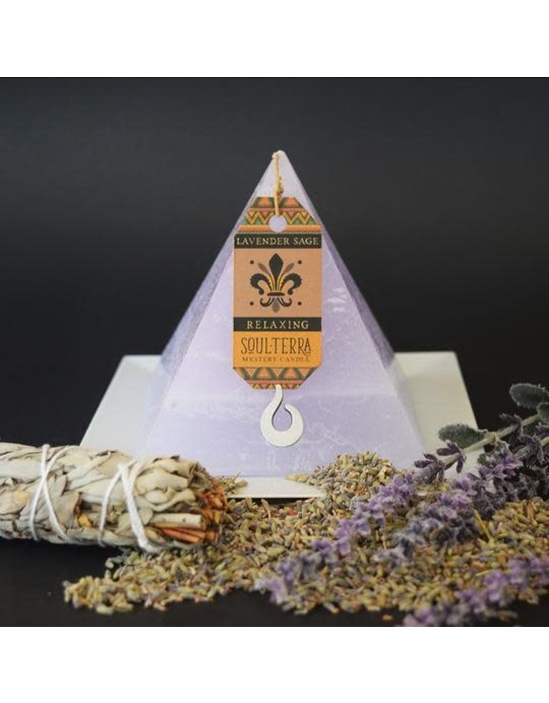 Soul-Terra Pyramid Candles
