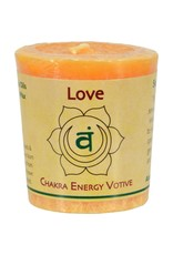 Love Votive Chakra Candle