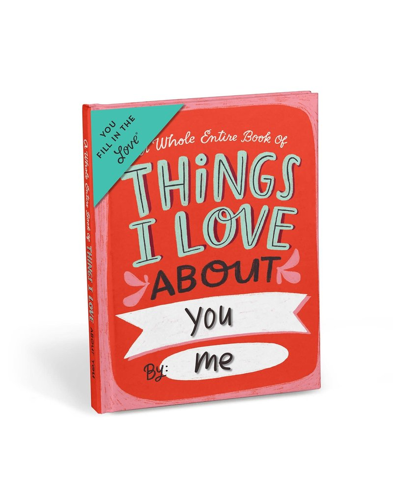 Emily McDowell & Friends JOURNAL - Fill In Things I love About...