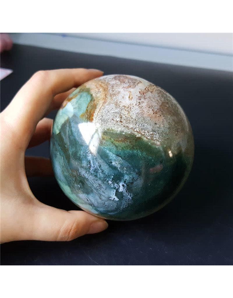 Ocean Jasper Sphere Lg