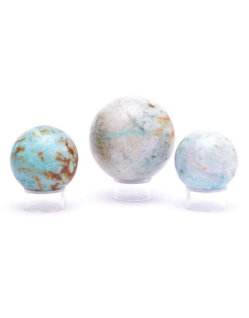 Blue Opal Sphere Md