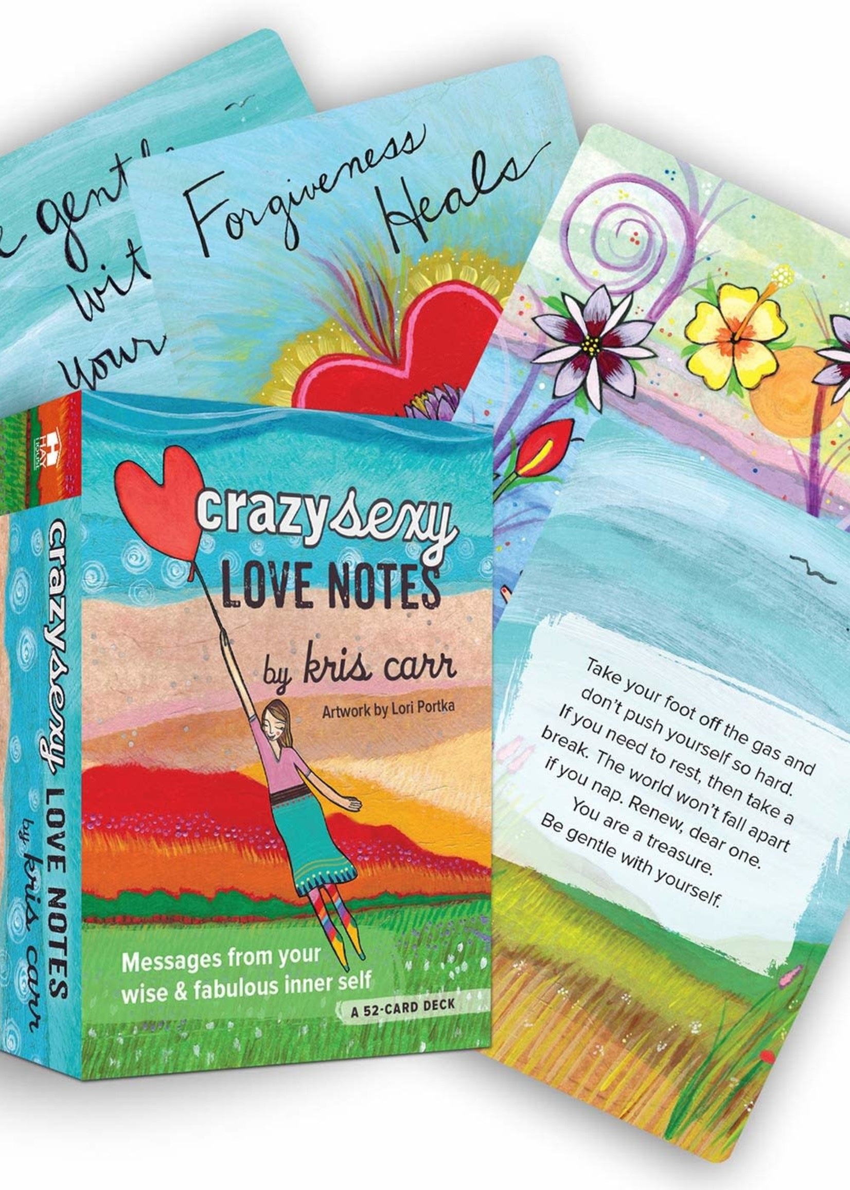 Deck Crazy Sexy Love Notes: A 52-Card Deck