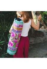 Yoga Bag Embroidered Fabric Multi Hmong