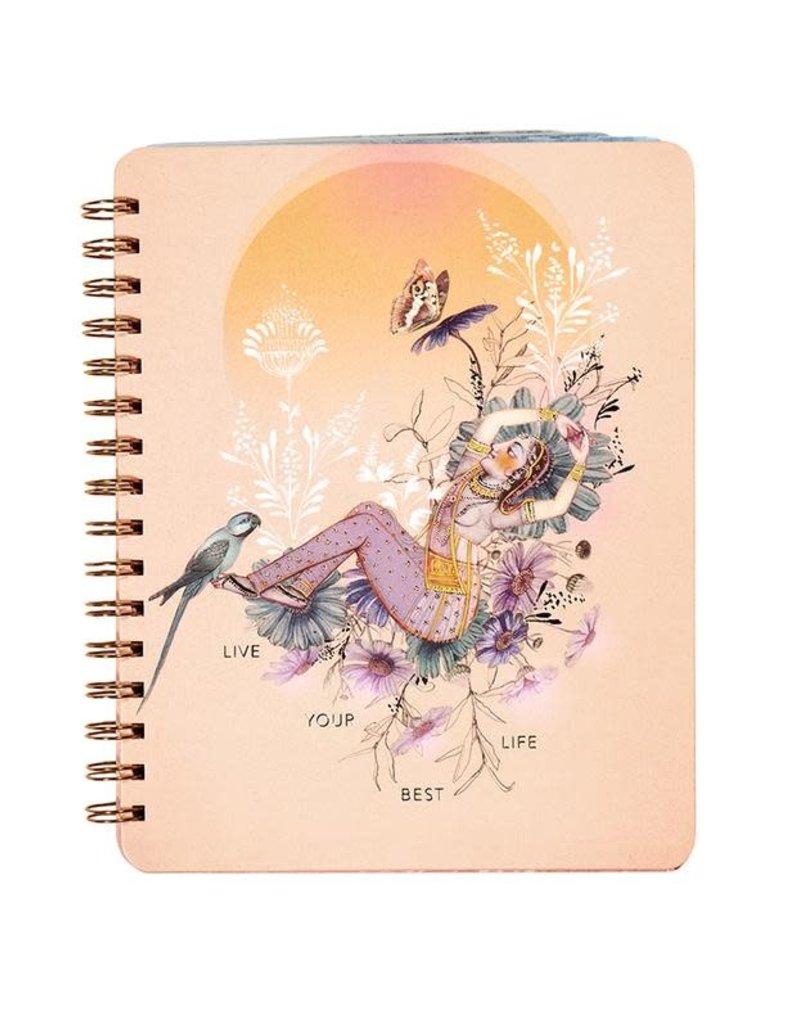 Spiral Notebook Best Life