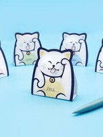 Foldable Lucky Cat Message Pad