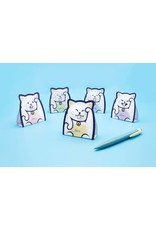 Suck UK Foldable Lucky Cat Message Pad
