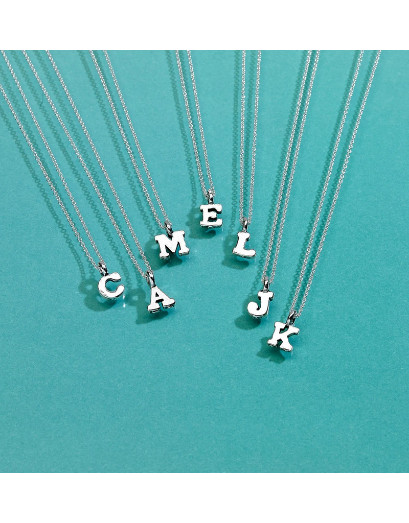 Necklace Initial Letter