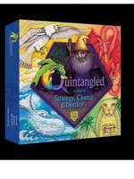 QUINTANGLED: A Game of Strategy, Chance, and Destiny (board game, boxed)