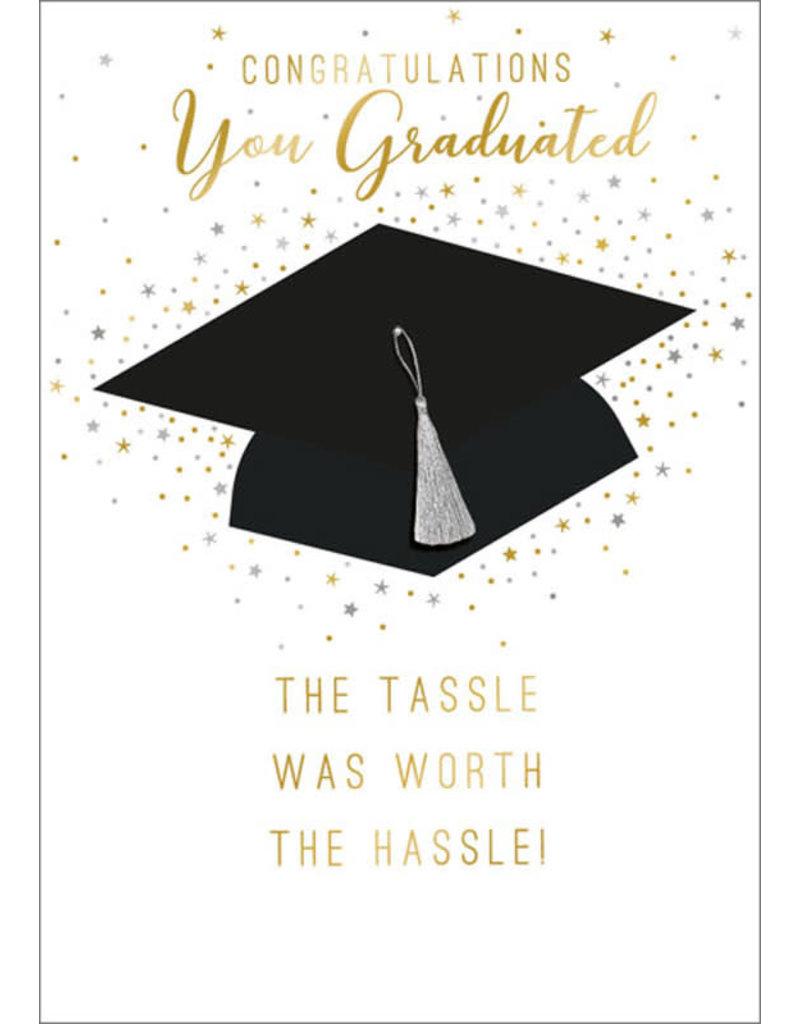Card GRAD Hat w Tassle