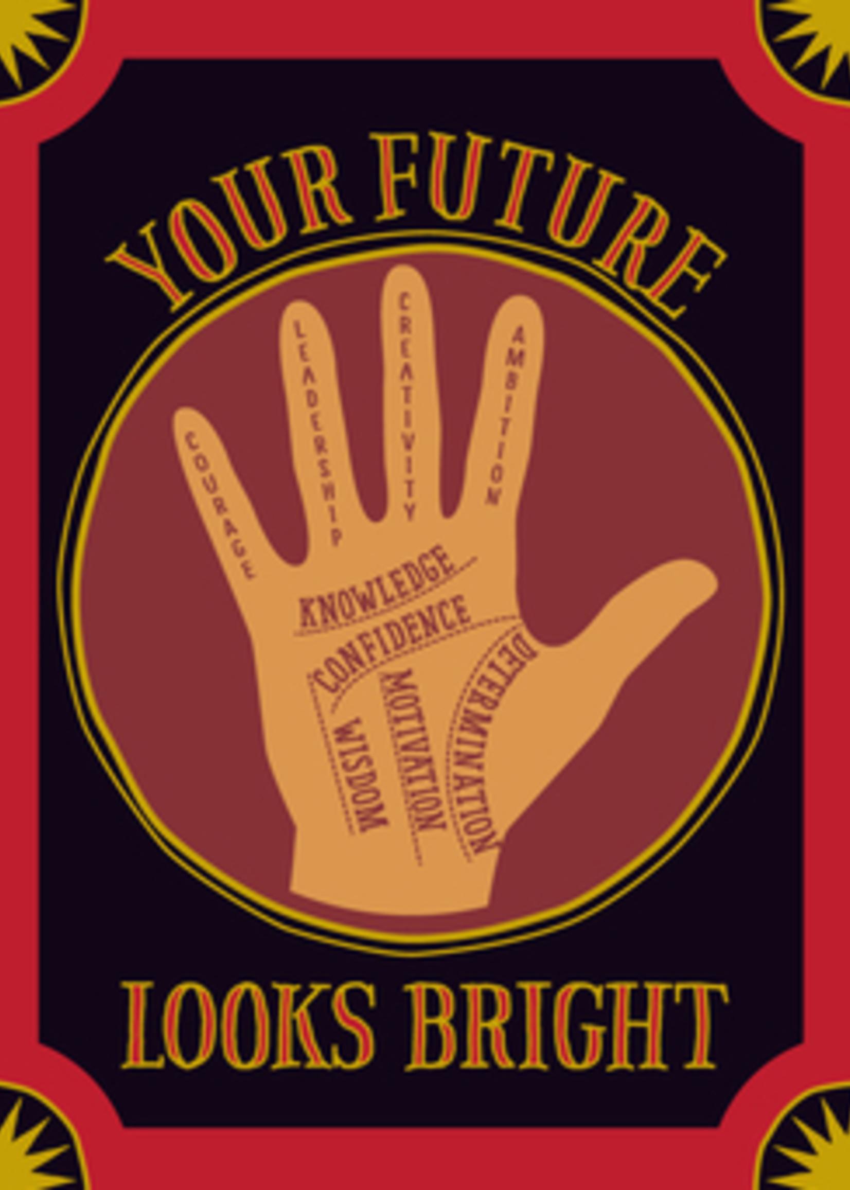 Card GRAD Palm Your Future Looks Bright