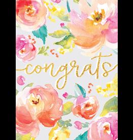 Card GRAD Grad Flowers