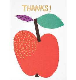 Card For Teacher Apple Thanks! *