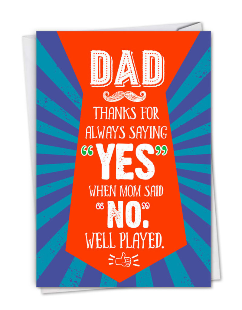 Card FDay Well Played Father's Day