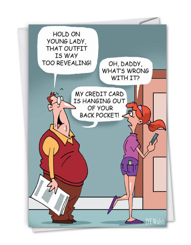 Card FDay Daddy Credit Card