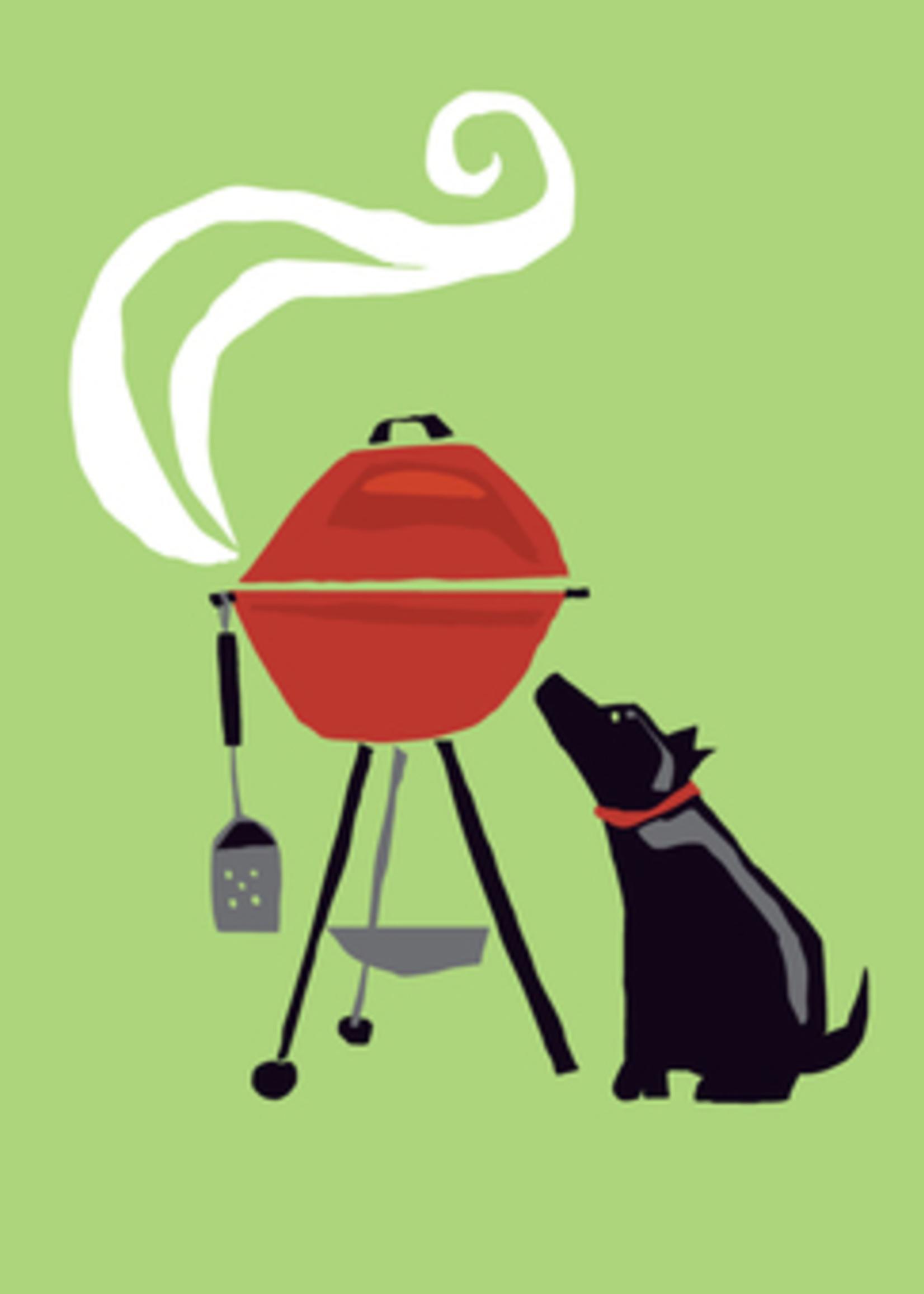 Card FDAY Blk Dog & Grill