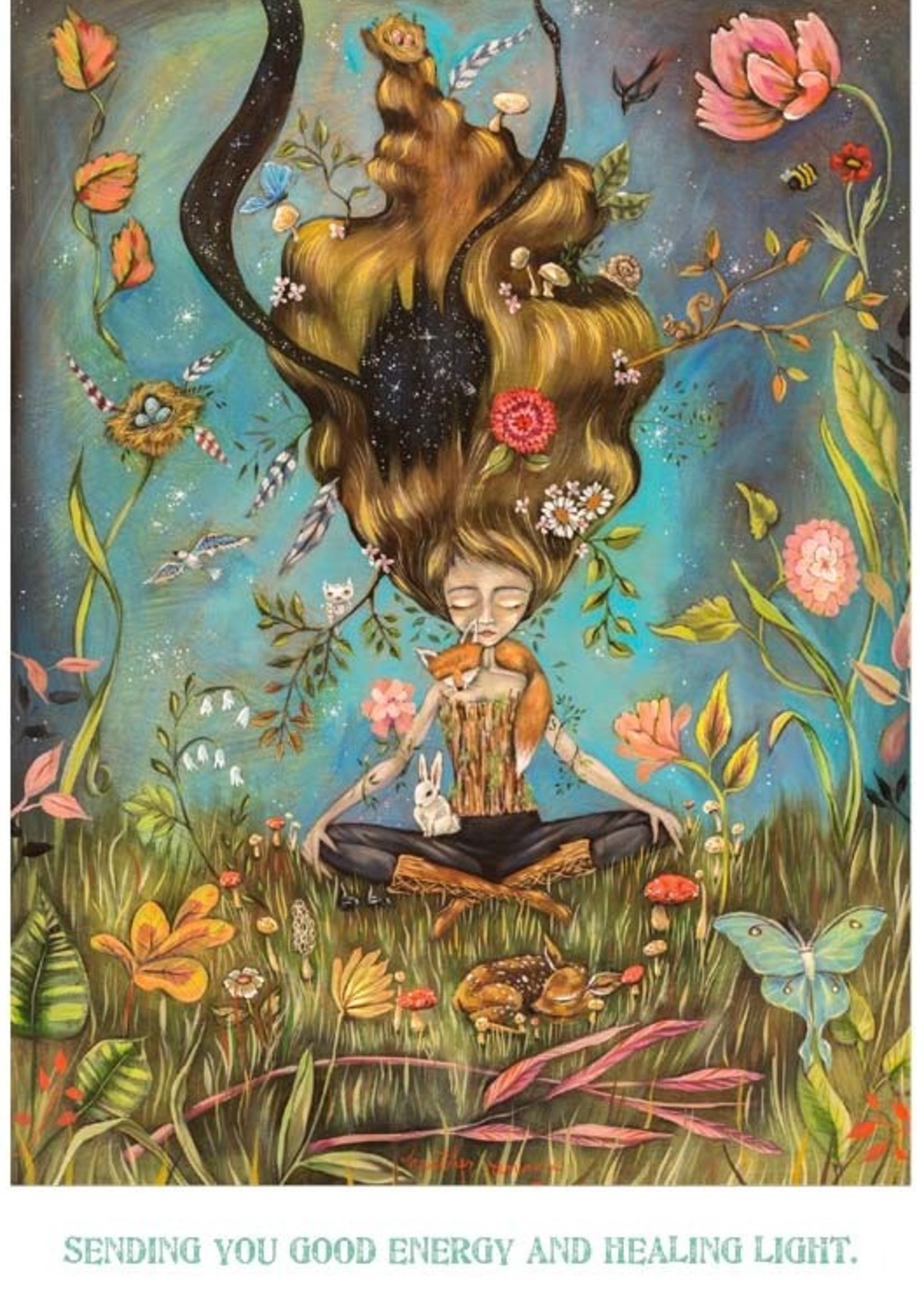 Card GW/ENC Balance the Universe Woman - Heather Renaux