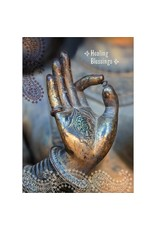 Card GW Buddha Hand Healing Blessings