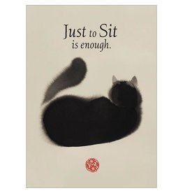 Card GW Artful Cat - Just to Sit is Enough