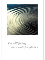 Card TY Rippling Water I'm Still Feeling The Wonderful Effects