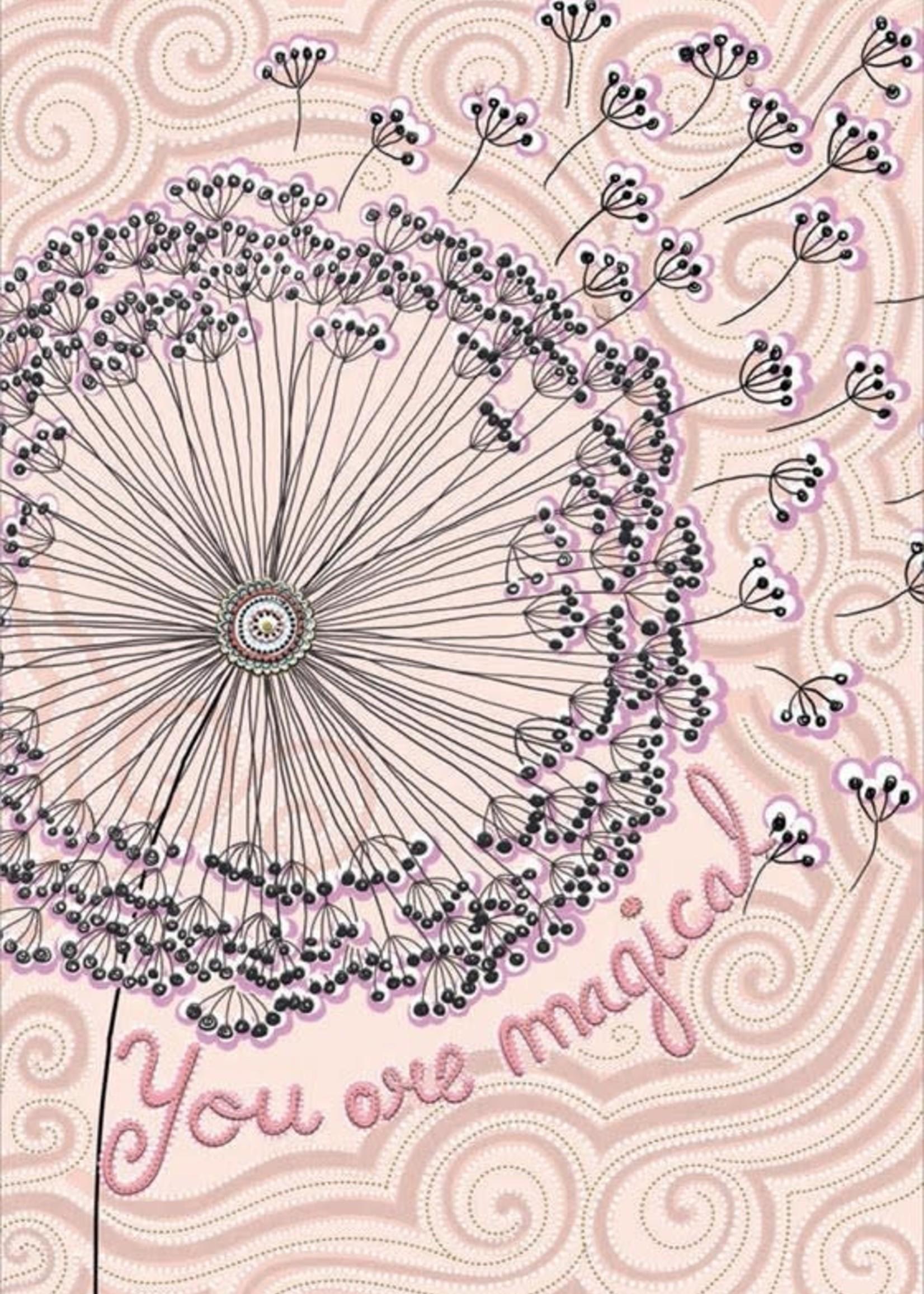 Card TY Magical Dandelion