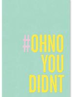 Card TY #OHNO