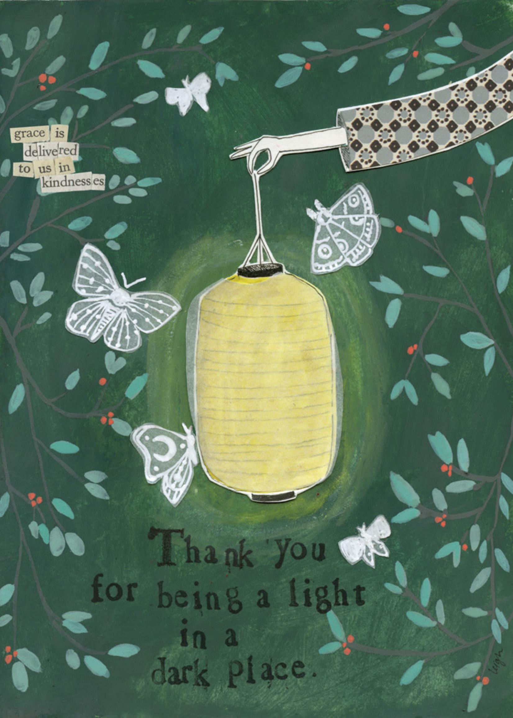 Card TY Light In The Dark