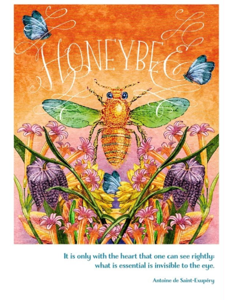 Card TY Honeybee