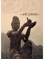 Card TY Buddha With Gratitude