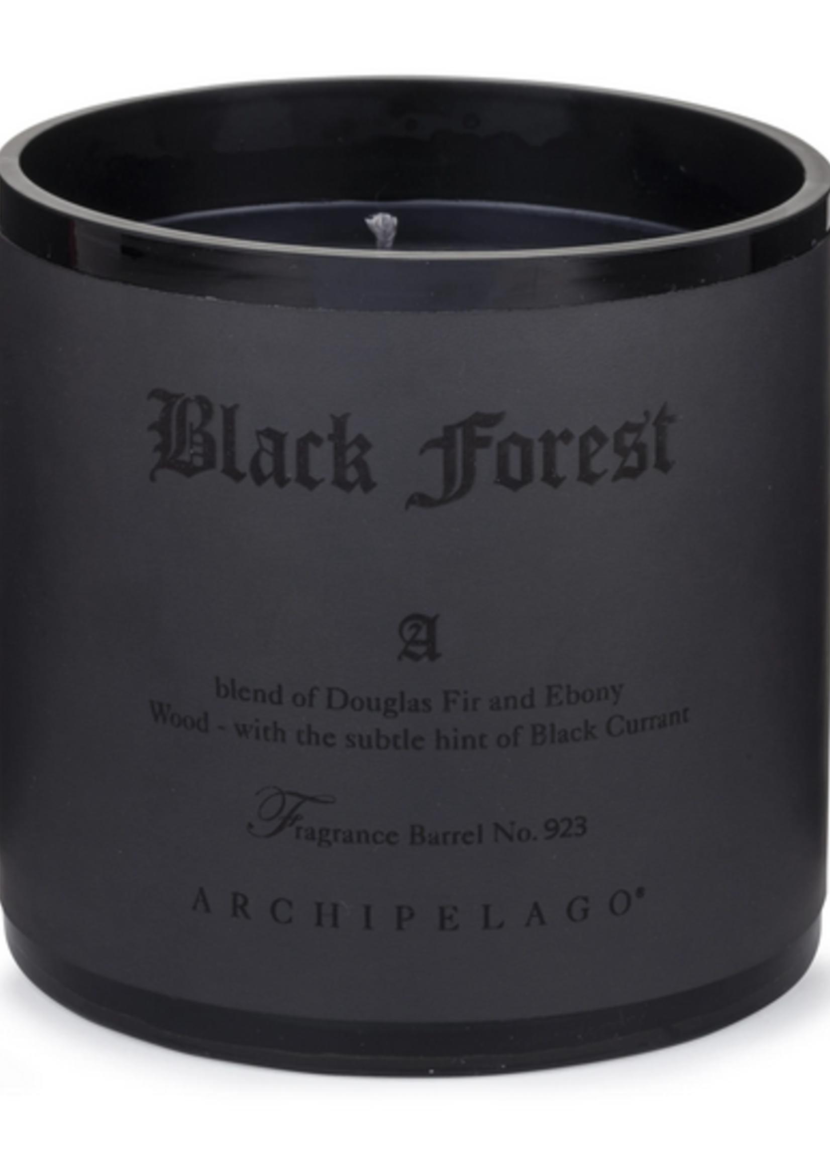 Candle Black Forest Letter Press 13oz 100 HRS
