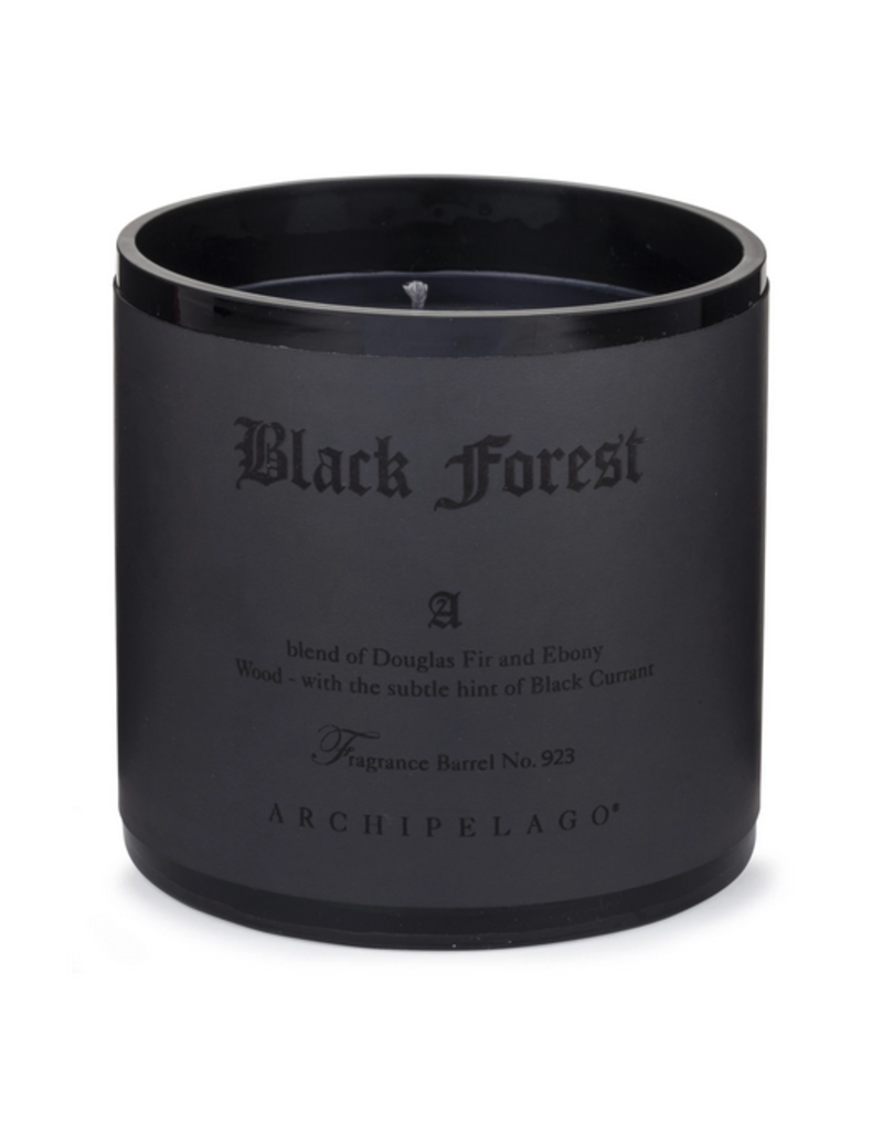 Candle Black Forest Letter Press 13oz 100 HRS