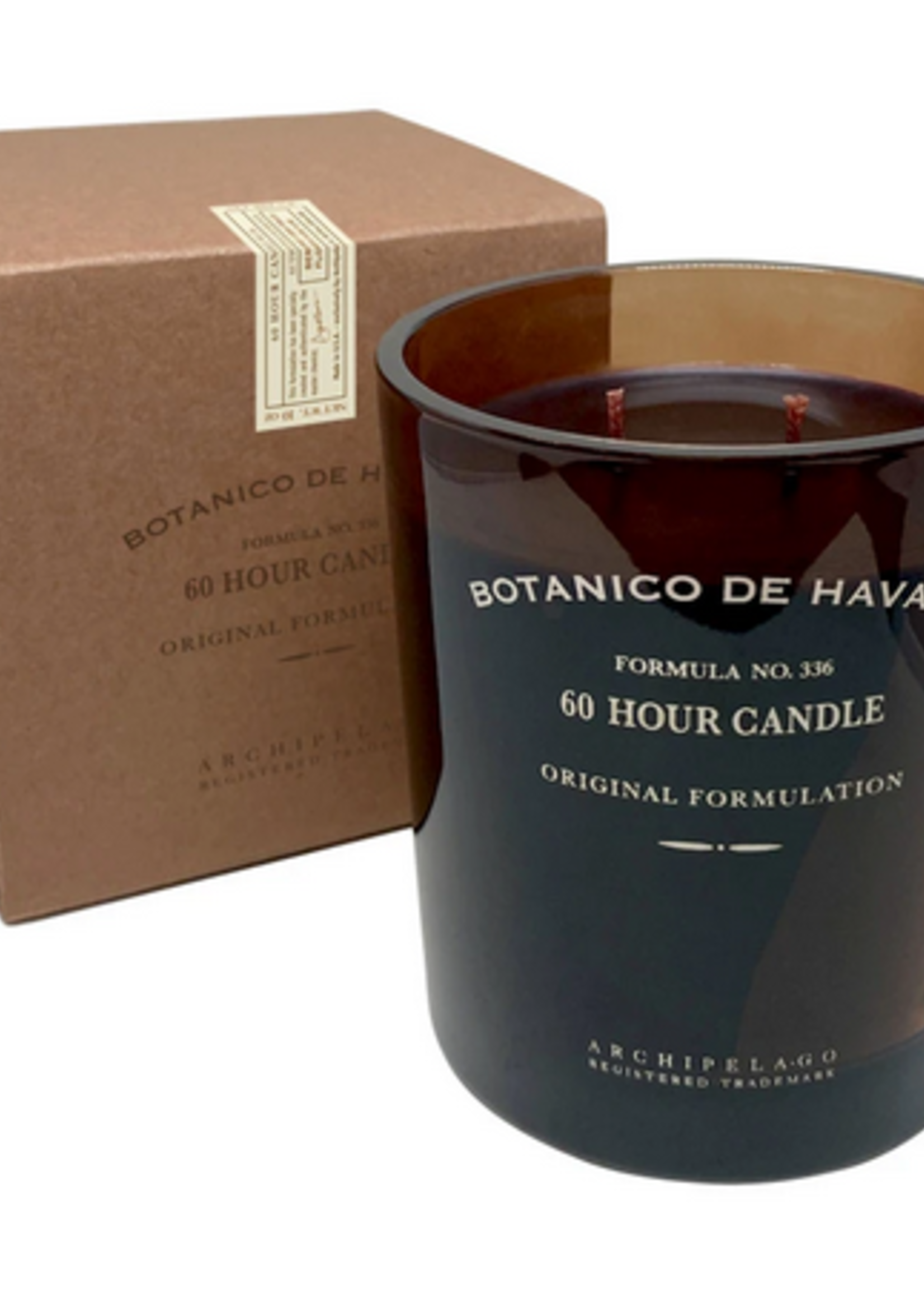 Havana Glass Jar Candle