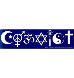 BS Coexist AZURE GREEN