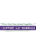 BS I Support Gay Marriage