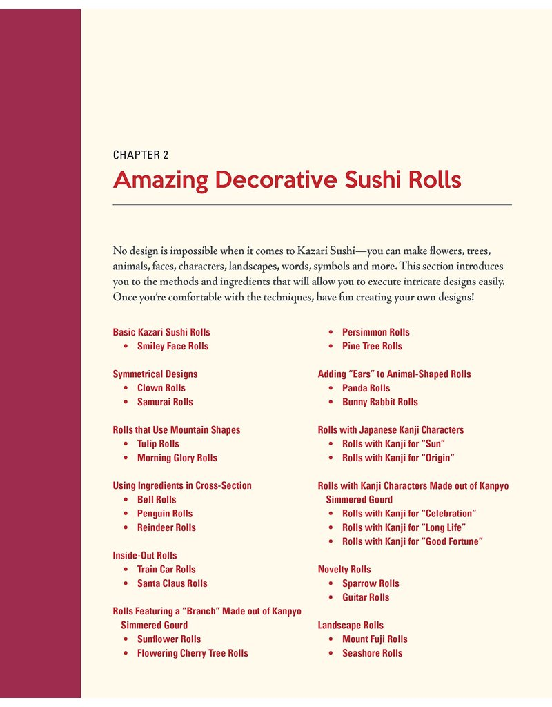 TUTTL Sushi Art Cookbook: The Complete Guide to Kazari Maki Sushi
