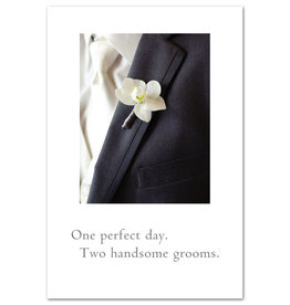 Card GAY WED 2 Grooms
