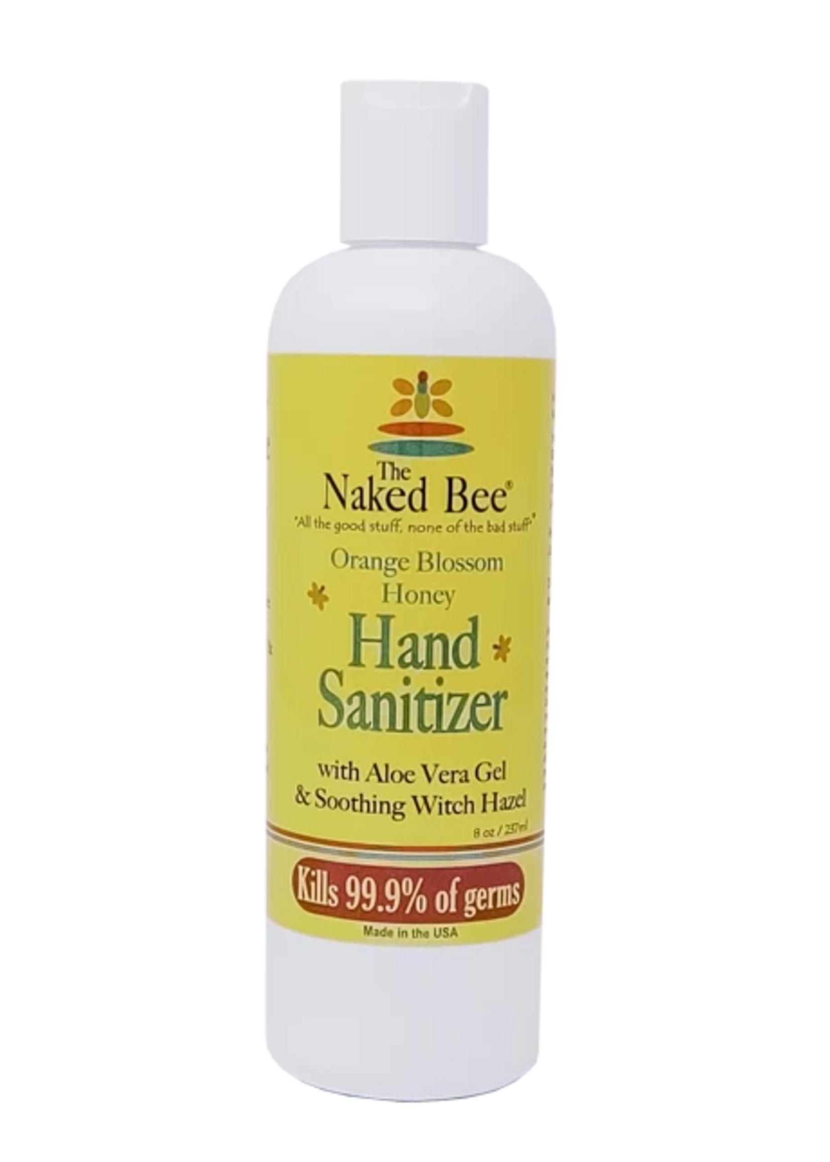 Hand Sanitizer Pump 8oz. Orange Blossom Honey